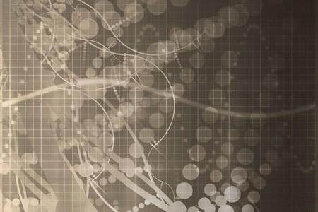 La science médicale et la technologie futuriste abstraite de fond