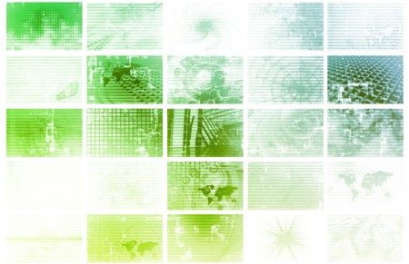 News and Media Overload Tech Abstract Background photo
