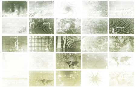 Futuristic Web Cyber Data Grid Color Background Stock Photo - 4026165