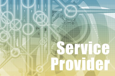 service provider: Service Provider Abstract Background in Blue Color