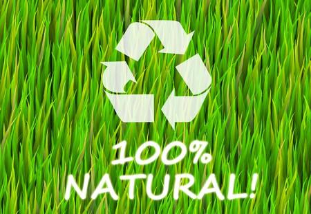 productos naturales: 100% natural y puro Ahora Resumen Antecedentes Foto de archivo
