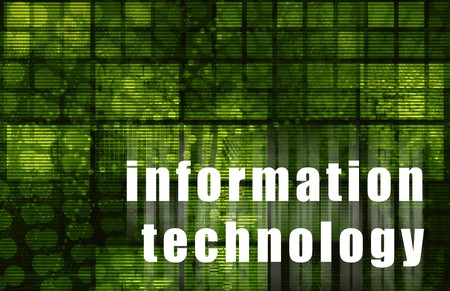 infotech: Information Technology Corporate Abstract as Art