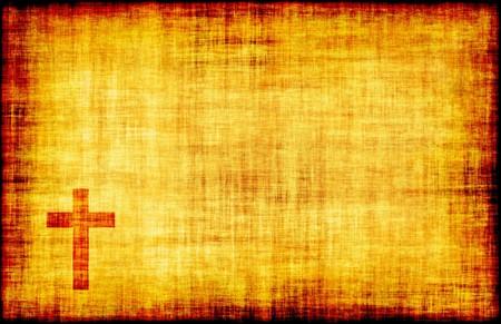 Christian Cross Bible Poster Design as Abstract Stock Photo