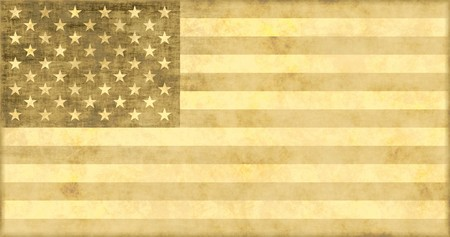 weakening: A Fading American Economy Glory Grunge Background