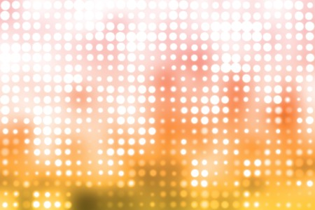 snazzy: Orange and White Glowing Futuristic Light Orbs Abstract Background Stock Photo