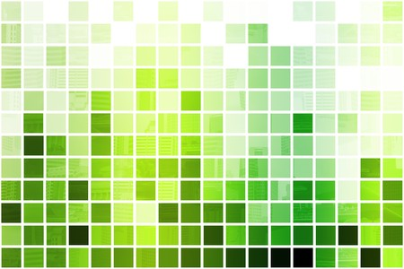 Green Simple and Clean Background Abstract in Grid Stock Photo - 4081605