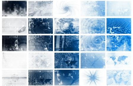 Futuristic Web Cyber Data Grid Color Background Stock Photo - 4124241