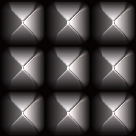 Futuristic Sleek Metal Stud Grid Abstract Background photo