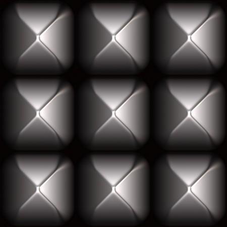 Futuristic Sleek Metal Stud Grid Abstract Background Stock Photo - 4167322