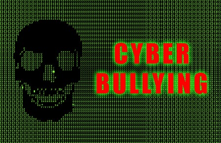 Cyber Bullying Online Web Issue in Ascii Stock Photo - 4167384