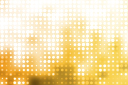 attention grabbing: Orange and White Glowing Futuristic Light Orbs Abstract Background Stock Photo