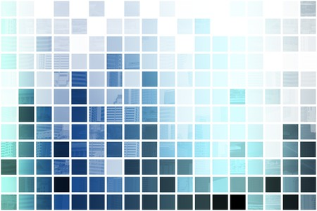 Blue Simplistic and Minimalist Abstract Block Background Stock Photo - 4231034