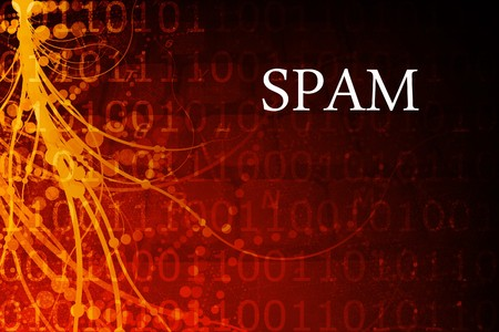 Spam Abstract Background in Red and Black photo