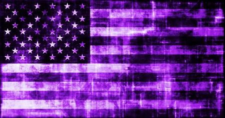 A Virtual America USA Flag Online Technology photo
