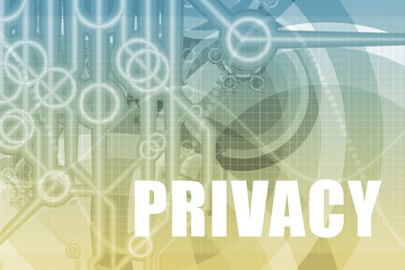 snooping: Privacy Tech Abstract Background in Blue Color
