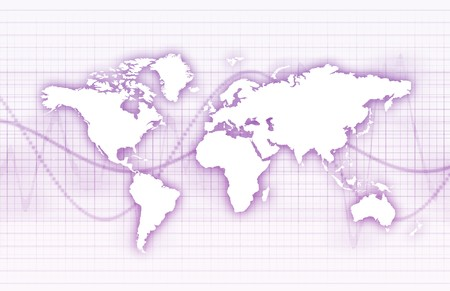 protocols: Global Business System Data come sfondo Archivio Fotografico