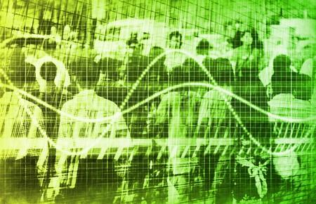demographic: Un consumo di vendita demografiche Grafico Speadsheet Arte Archivio Fotografico