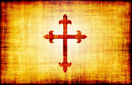 Christian Cross Bible Poster Design as Abstract Stock Photo - 4276418