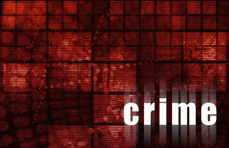 Crime Technology Abstract Background as a Art photo