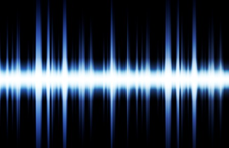 audio wave: Soundwave Digital Graph as Clip Art Abstract Stock Photo