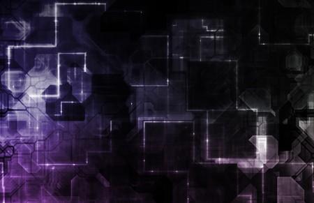 Futuristic Abstract Optical Interface As a Art Stock Photo - 4375254