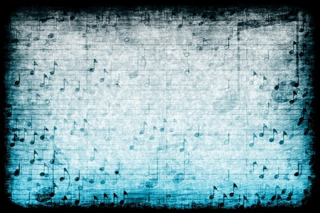 A Music Themed Abstract Grunge Background Texture photo