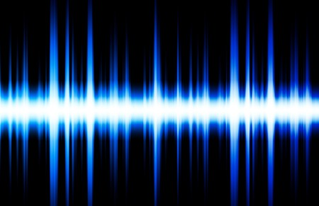 sound wave: Sound Equalizer Rhythm Music Beats in Various Colors Stock Photo