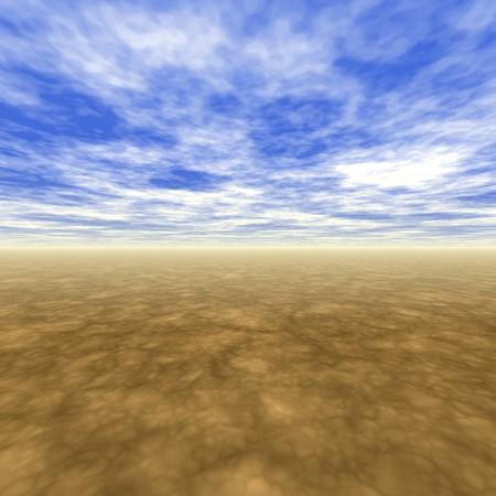 No Boundaries Scenery With Light Blue Skies Stock Photo - 4414237