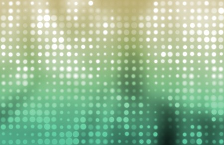 Glowing Colorful Dots as a Abstract Background