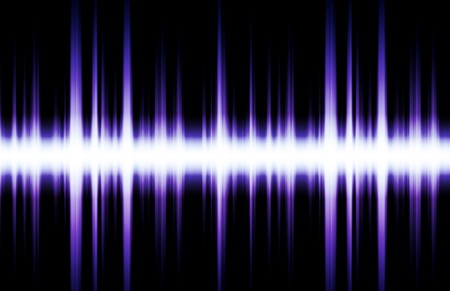 Futuristic Abstract Background as Audio Sound Flare Stock Photo - 4478110