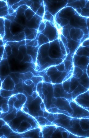 A Seamless Blue Electric Lightning Storm Art photo