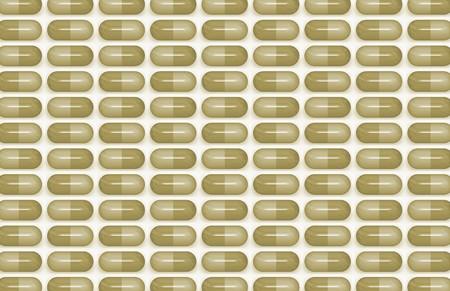 antibiotic pills: Antibiotic Pills as a Medical Science Background Stock Photo