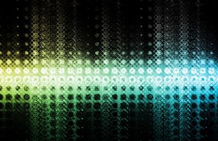 Futuristic Tech Design on a White Background photo