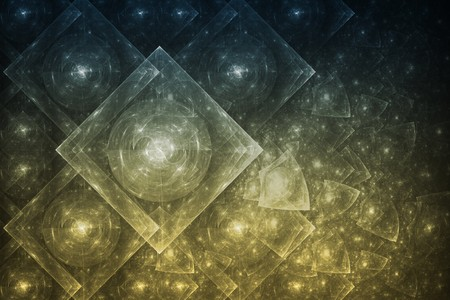 Bright Crystal Glowing Formation Abstract Background Wallpaper photo