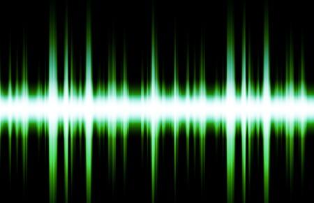 Soundwave Digital Graph as Clip Art Abstract photo