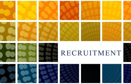 Recruitment Abstract Background Illustration illustration