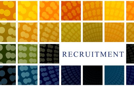 recruiting: Recruitment Abstract Background Illustration
