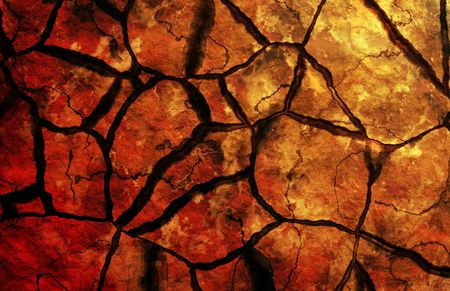 hardened: Barren Land Drought Dry Earth Soil Background Stock Photo