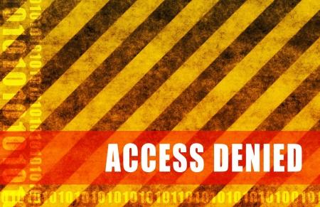 toegangscontrole: Toegang geweigerd geen post bericht als abstract