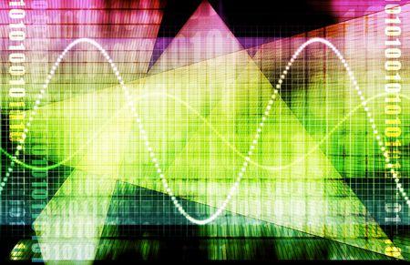 Telecommunications Industry Global Network as Art Stock Photo - 4789501