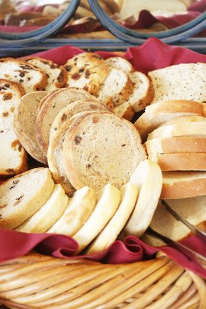 Assorted Bread Variety Mix of Different Types photo