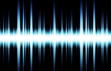 Futuristic Abstract Background as Audio Sound Flare Stock Photo - 4817545