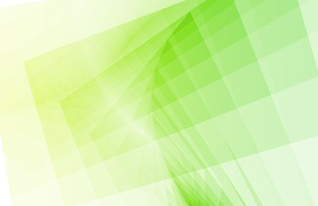fractals: Green Fractals as a Abstract Background Square Stock Photo