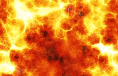 hellfire: Fiery Background Explosion Raging Flame as a Art