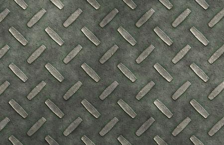 plating: Metal Diamond Ridge Plates as a Background