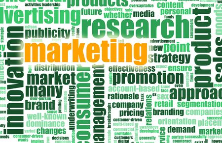 media distribution: Sales and Marketing Focus as a Word Cloud