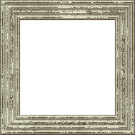 ridged: Old Wood Antique Grunge Frame With Blank Space