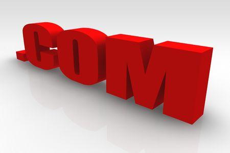 url: .com or Dot Com Website Url Symbol