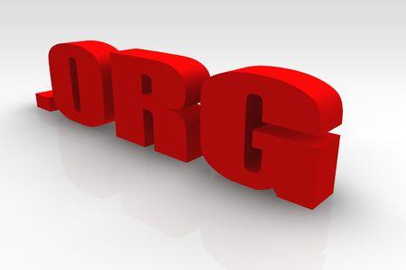 url: .org or Dot Org Website Url Symbol