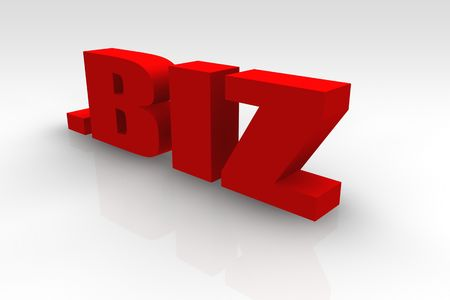 url: .biz or Dot Biz Website Url Symbol Stock Photo